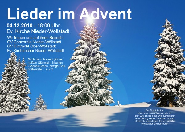 LIEDER IM ADVENT