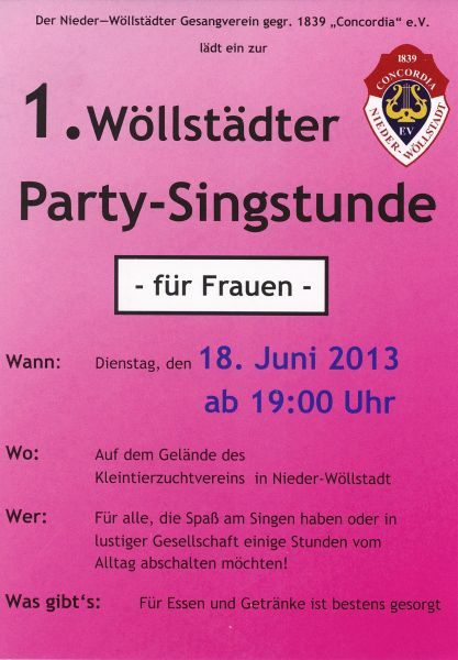 Party-Singstunde