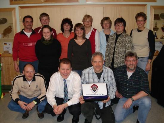 Bild Vorstand 2008